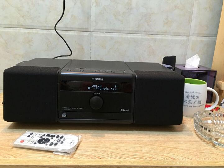 雅马哈(Yamaha)MCR-B020 音响 音箱 CD机 USB播放机 迷你音响 组合音响 蓝牙音响 定时闹钟 电脑音响 黑色 晒单图