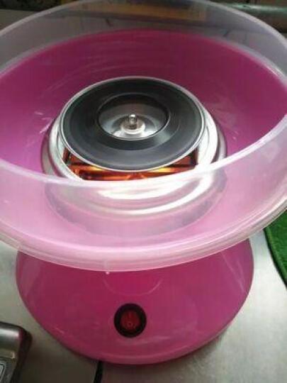 棉花糖机儿童家用全自动做棉花糖机器彩色商用迷你电动棉花糖机器 茶色 晒单图