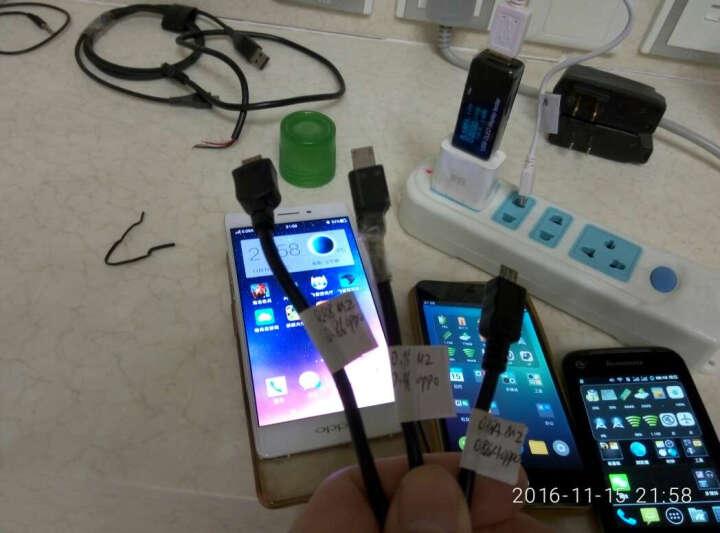 炬为 手机充电器数据线充电宝移动电源usb电流电压功率容量检测试仪表 安全智能断电监测仪 5位精密宽视觉宽压型OLDE显示USB测试仪电压表 晒单图