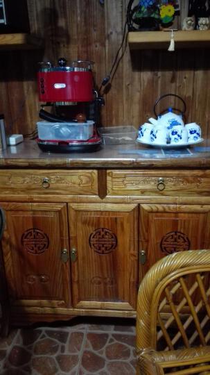 尤亚 实木明清仿古鞋柜 色鞋柜 中式玄关柜进门鞋柜 XG2032 木色鞋柜 晒单图