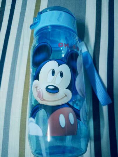 先行儿童杯迪士尼乐宝卡通系列小孩吸管杯 学生塑料水杯子防漏户外运动随手杯400ml 迪士尼米奇蓝 晒单图