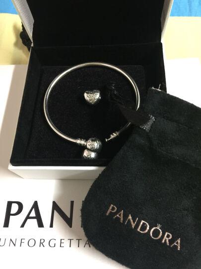 潘多拉 PANDORA 925银爱心戒指盒串饰串珠 银色791247CZ 晒单图