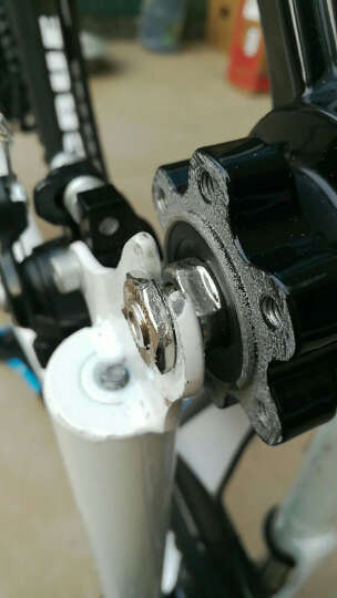 凤凰(Phoenix)山地自行车成人男女单车21速/27速26寸双碟刹学生减震铝合金变速车 追风--21速三刀一体轮白蓝 晒单图