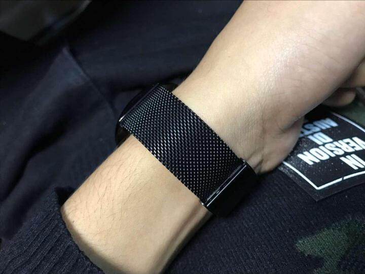 艾诺(AILUO)手表男士钢带休闲运动多功能防水男表石英情侣手表钟表 全钢玫金白面玫钉三针7091 晒单图