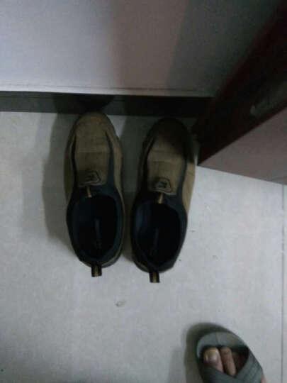 NAIKPLLO秋冬老北京布鞋保暖男士休闲健步鞋子中老年爸爸鞋轻便平底老人鞋 Z010绿色 43 晒单图