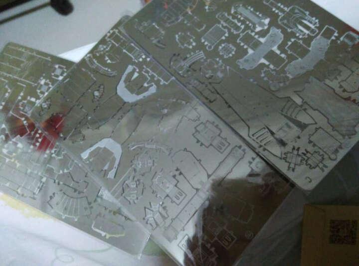 3D立体拼图金属微型模型星际坦克手工DIY军事模型拼装玩具节日礼物儿童创意玩具 蜘蛛鬼雷银+赠品套装 晒单图