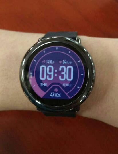 AMAZFIT 智能运动手表 华米科技出品 GPS实时轨迹 运动心率 陶瓷表圈 通知提醒 快捷支付 黑色 晒单图