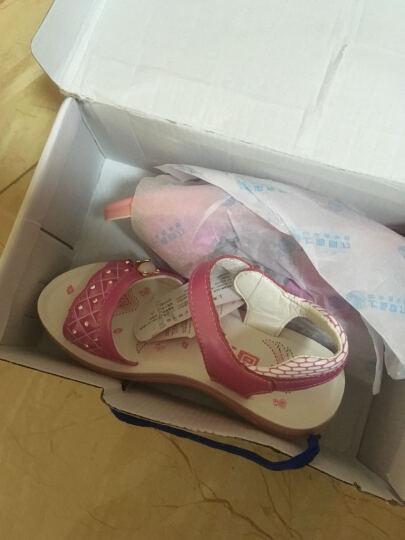 回力夏季凉鞋回力童鞋女儿童韩版潮公主鞋 白色 36 晒单图