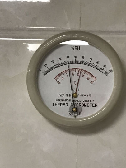 WS-1温湿度表 配套空盒气压表车辆检测站温湿度表温湿度仪WS-1温湿度计毛发原理 WS-1温湿度表 晒单图