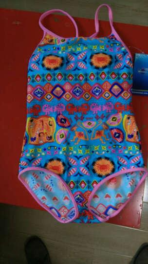 英发(YINGFA)儿童泳衣女童连体可爱防晒吊带大童女孩度假游泳衣Y0322 -2粉色 12#带胸垫 晒单图