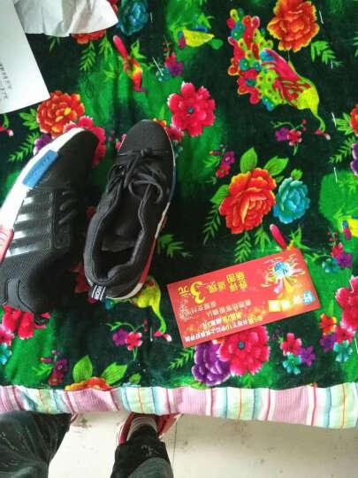 秋季男鞋子运动鞋男士休闲鞋韩版阿甘板鞋跑步鞋板鞋透气垫鞋N95 1606黑 41 晒单图