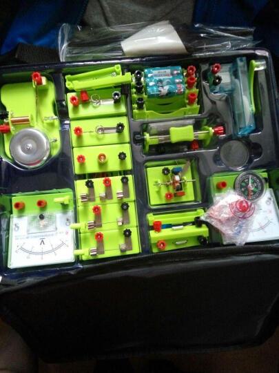 初中物理电学实验盒 书包实验室 电磁学实验器材箱试验箱全套初三 晒单图