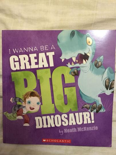 I Wanna Be a Great Big Dinosaur (with audio CD)我想成为一只超级大恐龙!(带CD) 晒单图