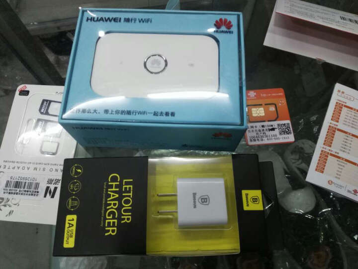 华为随行WiFi E5573/2联通电信移动三网4g车载随身wifi无线路由器上网卡托 e5573s-856+电信12G半年全国流量套包 晒单图