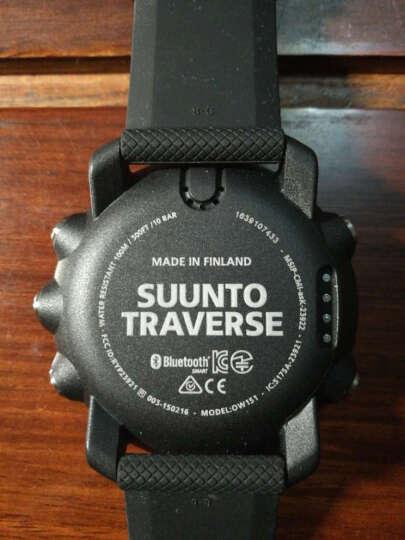 颂拓SUUNTO松拓智能手表TRAVERSE远征高度计心率户外运动GPS多功能男女情侣腕表 中文远征黑色SS021843000 晒单图