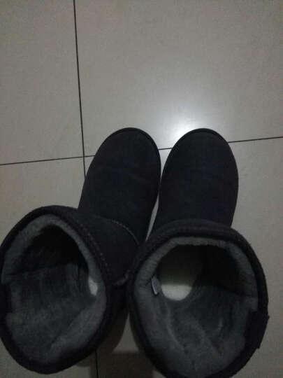 米基羊毛鞋垫羊毛  加厚 冬季保暖鞋垫女 白色 38 晒单图