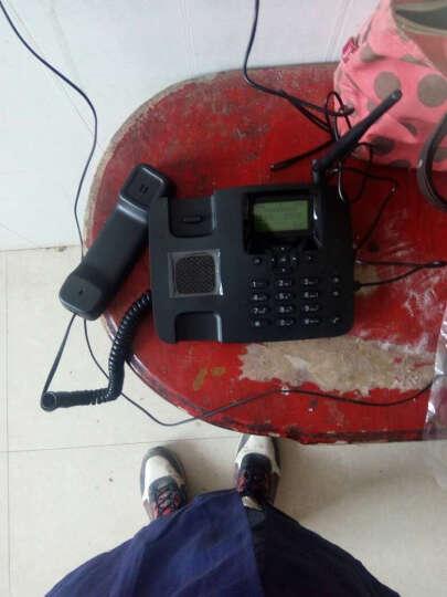 摩托罗拉FW200L无线座机 无线固话 插卡电话机 插移动手机卡 移动卡 黑色(电信版本) 晒单图