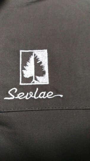 圣弗莱(Sevlae) 圣弗莱SEVLAE秋冬新品户外冲锋衣男三合一登山服 9642940150黑檀灰 XL/180 晒单图