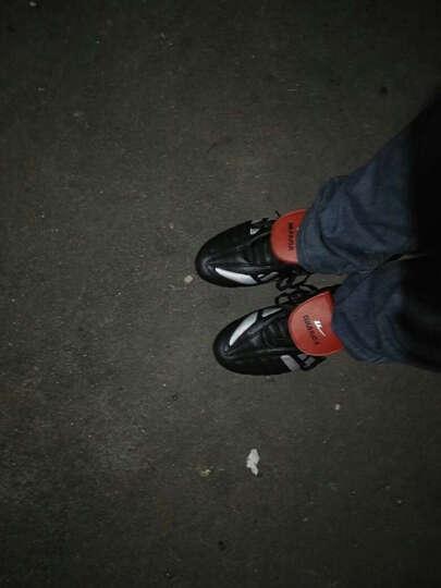 回力Warrior男鞋碎钉胶钉鞋训练鞋经典专业足球鞋5005 黑银红 45 晒单图