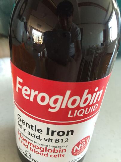 Feroglobin 英国Vitabiotics  婴儿宝宝儿童孕妇 维生素B族铁锌营养液 晒单图