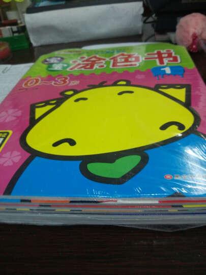 套装8册 小笨熊宝宝涂色0-1-2-3岁儿童绘画书涂色书儿童画画书幼儿图画书0-3岁 晒单图