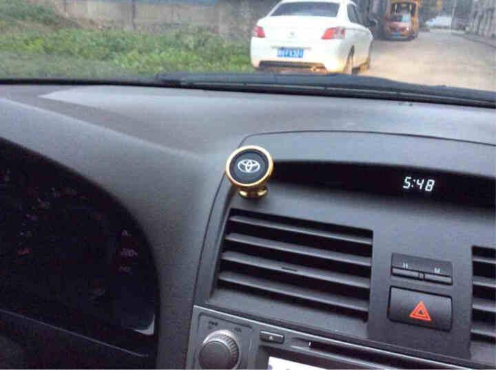 福鹿 车载手机支架 汽车手机支架 360度可旋转托盘 默认玛莎/保时捷 经典款车标支架 晒单图