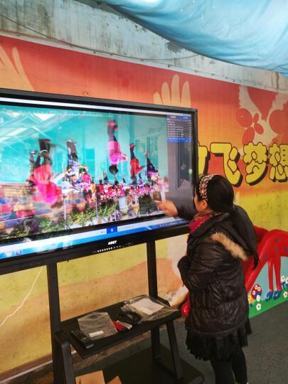中银(BOCT)BT86 86英寸4K高清智能触控一体机教学会议交互式电子白板触摸屏显示器电视电脑  免费上门安装 晒单图
