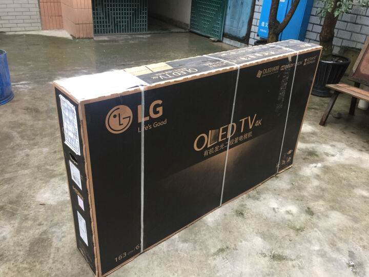 LG OLED65C6P-C 65英寸OLED4K超清智能纤薄3D曲面电视 晒单图
