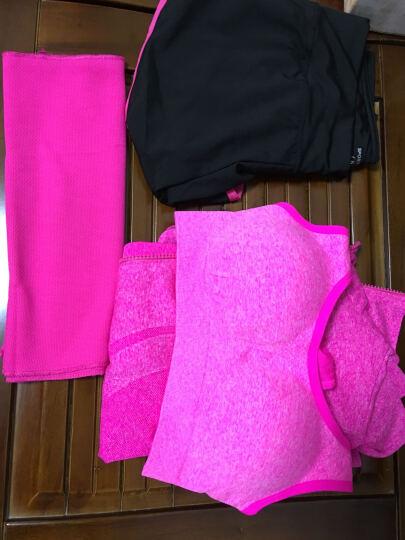 凯萱丝 瑜伽服女套装夏健身服三件套跑步速干衣背心含胸垫运动套装 三件套(05) M 晒单图