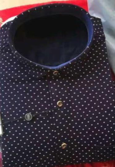 南极人男士保暖衬衫男长袖时尚商务加绒加厚保暖内衣单件装 休闲商务款 L/170 晒单图