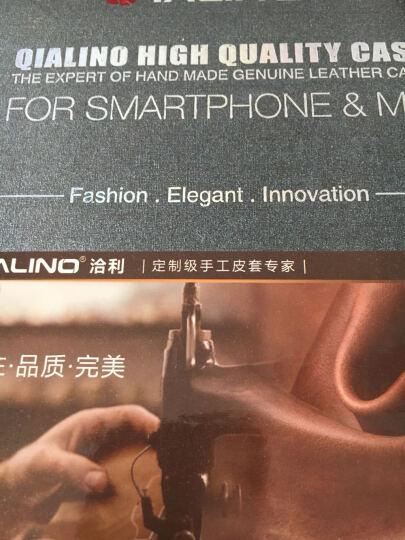 洽利(QIALI)真皮套手机壳/保护套防摔 适用于苹果iPhone6/6s plus 4.7经典黑色 晒单图