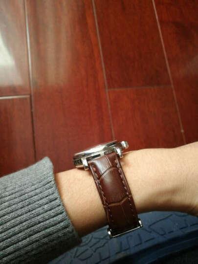 手表皮带 真皮表带