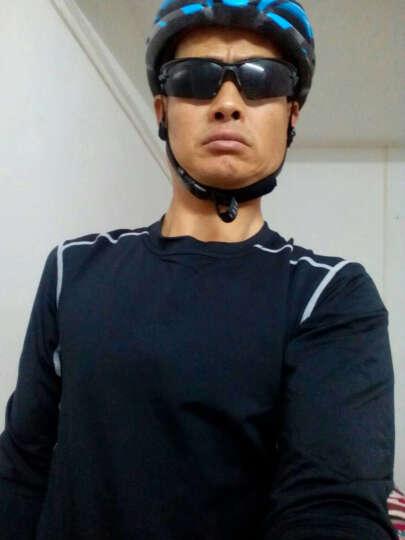 范斯蒂克 运动套装男健身运动服套装短袖紧身衣健身裤篮球服速干跑步训练服 抓绒黑色四件套 TC0626 XL 晒单图