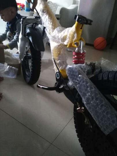优贝(RoyalBaby) 儿童自行车 男女童车 儿童单车 12/14/16寸 双避震 黄色 14寸 晒单图