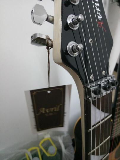 艾薇儿(Avril) 艾薇儿24品双摇电吉他专业舞台演出摇滚重金属电子吉他初学者吉他免费刻字货到付款 套餐二  拍下请备注吉他颜色 晒单图