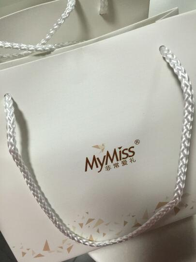 MyMiss Mymiss925银镀铂金花朵 韩版时尚银饰 向日葵 项链(金色) 晒单图