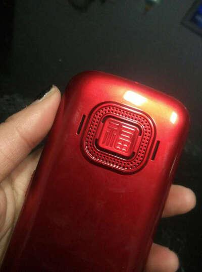 BIHEE 百合 C9 CDMA天翼电信版 老年人手机 红色 晒单图