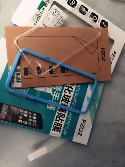 PZOZ 【送数据线】 苹果6s手机壳保护套iPhone6s/6sPlus防摔软硅胶全包 淡紫色-6P/6SP(5.5英寸) 晒单图