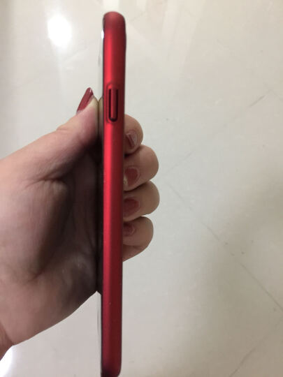 锐舞 iPhone7/8手机壳苹果保护套磨砂男女薄防摔全包硬壳个性时尚 iPhone 8/7 中国红 晒单图