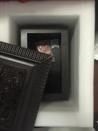 骨灰盒实木黑檀木棺材花梨木金丝楠寿盒红木殡葬用品九五至尊凤舞至尊 九五至尊-男款 晒单图