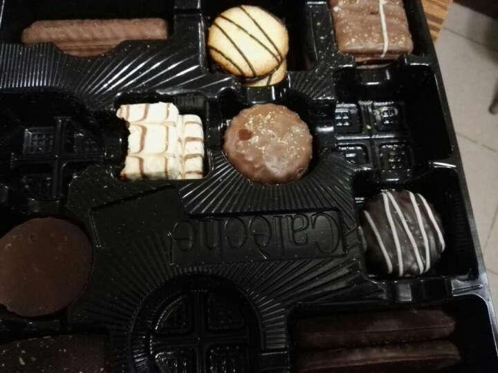 露怡LU饼干零食休闲食品 巧克力点点豆蛋糕 晒单图