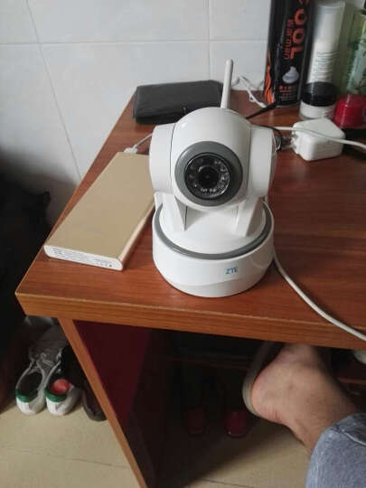 中兴(ZTE) 小兴看看Pro 1080P超清智能无线WiFi网络摄像头 手机监控IP Camera 云台360°无死角 晒单图