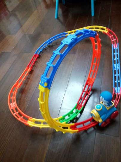 哆啦A梦 音乐旋转电动轨道小火车 儿童益智玩具翻滚特技车 轨道过山车 男孩玩具 生日礼物 23节轨道 晒单图