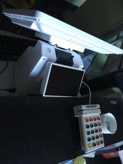 有美食 紫光  收银机点餐机一体机触摸屏单双屏收款机餐饮超市奶茶店点菜机 单屏(高配) 标配 晒单图