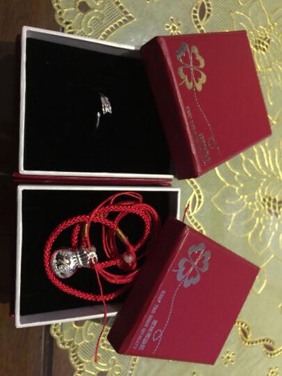 炫银部落 925银十二星座戒指 情侣对戒 开口设计 韩版银饰 时尚饰品 3006006 处女座 晒单图
