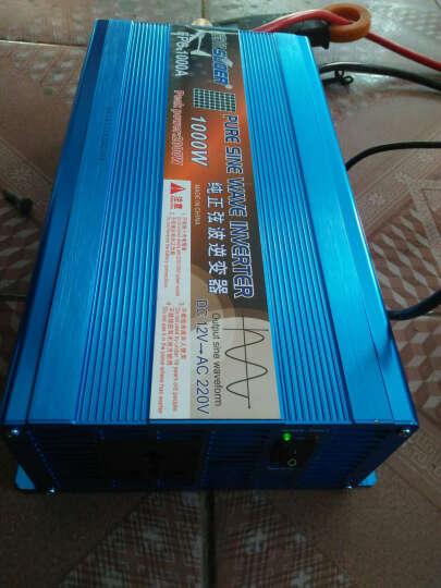 索尔FPC-1000W/2000W大功率纯正弦波12V转220V逆变器家用变压器 车载电源 3000W/24V(配送电瓶连接线) 3000W/24V 晒单图