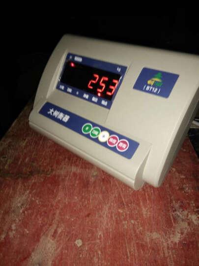 电子地磅1-3吨地磅称XK3190-A12电子地磅SCS系列3吨电子平台秤上海地磅厂家 XK3190-A9+P打印仪表 晒单图
