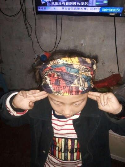 博沃尼克 魔术头巾脖套 户外运动骑行头巾百变方巾吸湿排汗无缝围巾 3356花色 晒单图