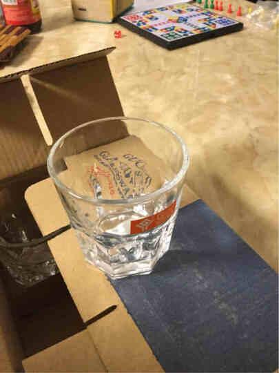八角玻璃杯水杯一口杯云吞杯白酒杯牛奶杯啤酒杯饮料杯酒吧KTV家用 杯子水具酒具 6号杯 钻石杯260ml【单只价】 晒单图