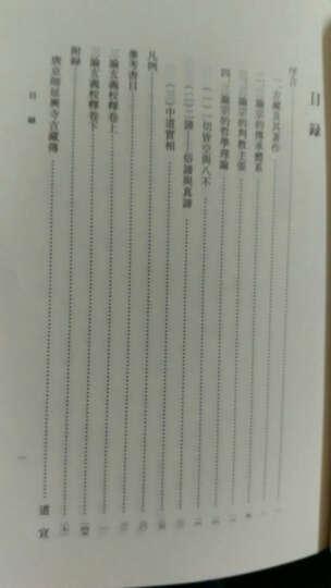 中国佛教典籍选刊:三论玄义校释 晒单图
